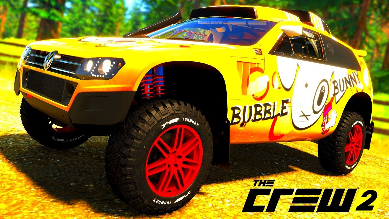 the crew 2 gold edition tuning volkswagen race touareg. Black Bedroom Furniture Sets. Home Design Ideas