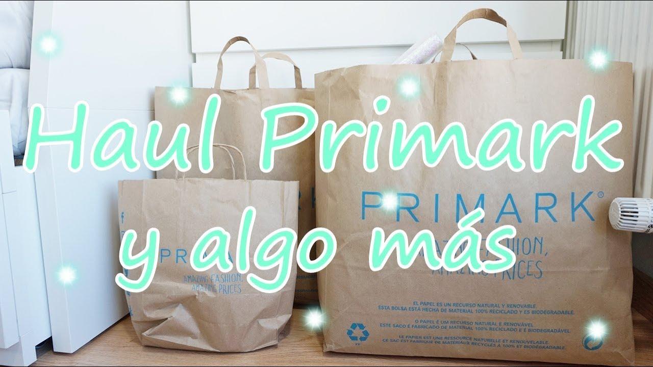 df4cac7aa20437 Haul Primark // Compras Primark - YouTube