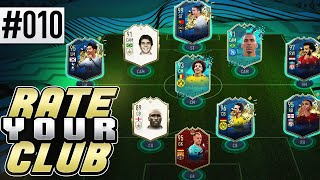 I RATE YOUR CLUB [PRO FOOTBALL PLAYER!] - Ep. 10 - FIFA 20 Ultimate Team