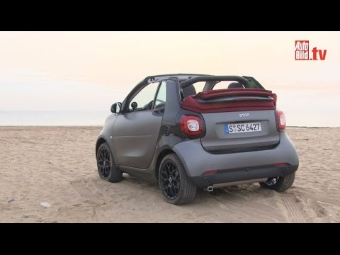 smart fortwo cabrio 2016 fahrbericht youtube. Black Bedroom Furniture Sets. Home Design Ideas