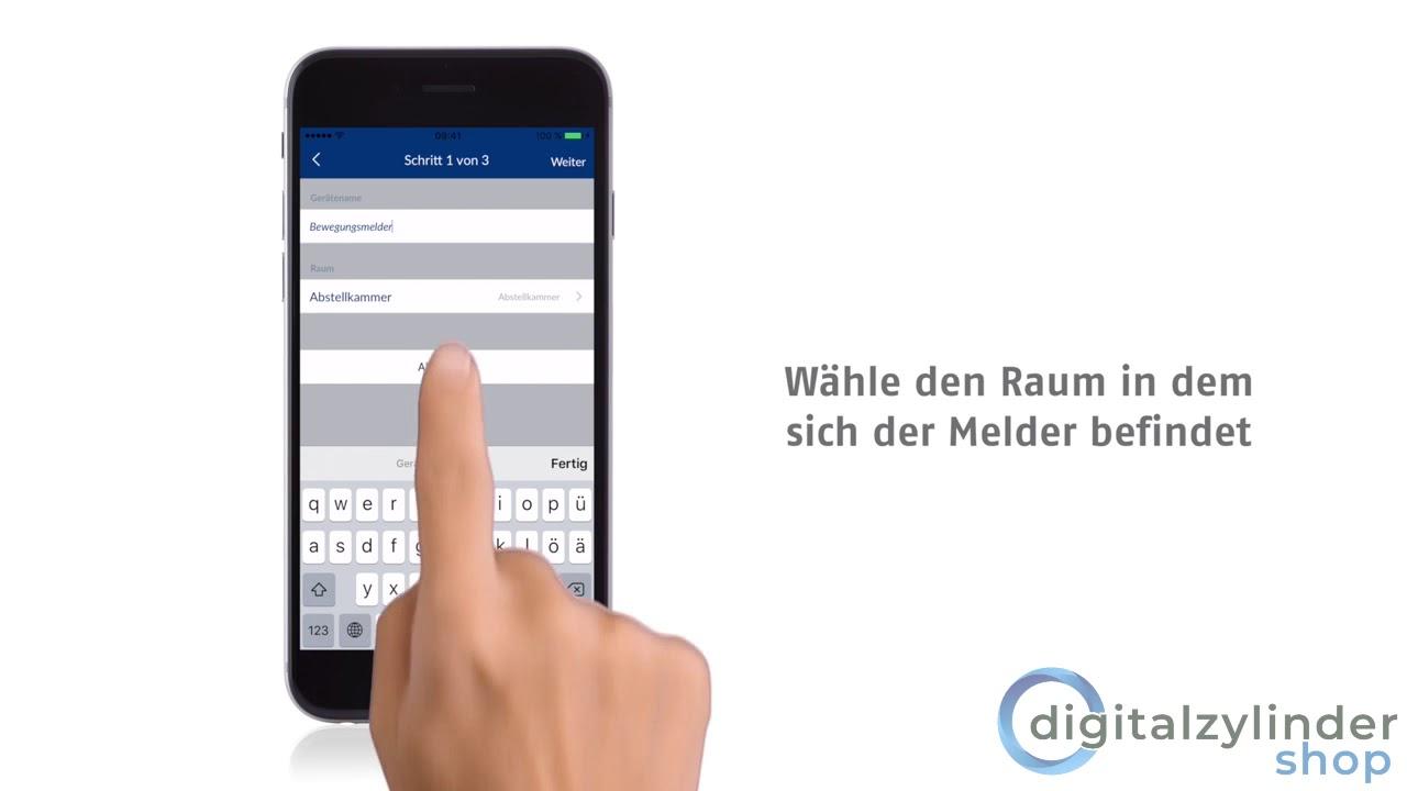 abus smartvest bewegungsmelder mit app verbinden tutorial - youtube
