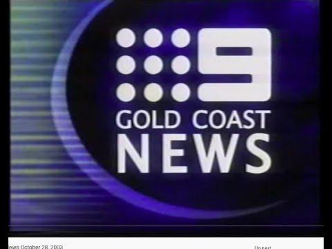 QTQ9 Nine Gold Coast News October 28, 2003