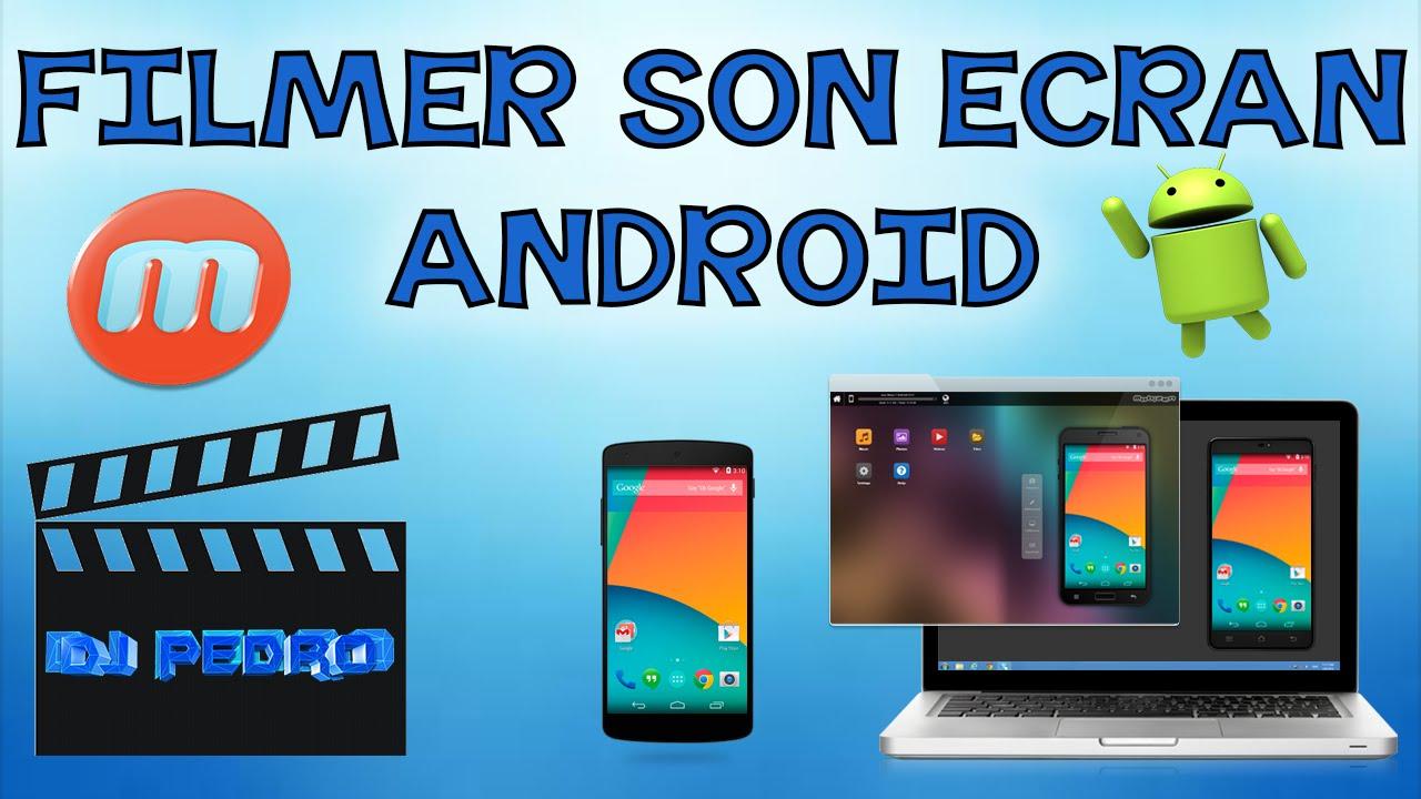 filmer son ecran android ordinateurs et logiciels. Black Bedroom Furniture Sets. Home Design Ideas