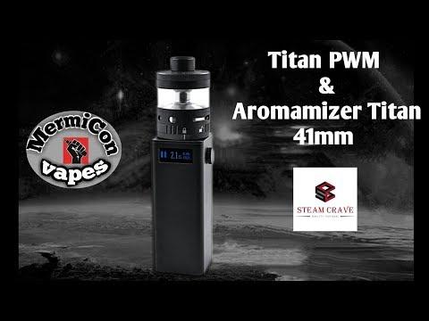 "Titan PWM mod Aromamizer 41mm by Steam Crave ""Ελληνική Παρουσίαση"" & Στήσιμο ""Greek review"""