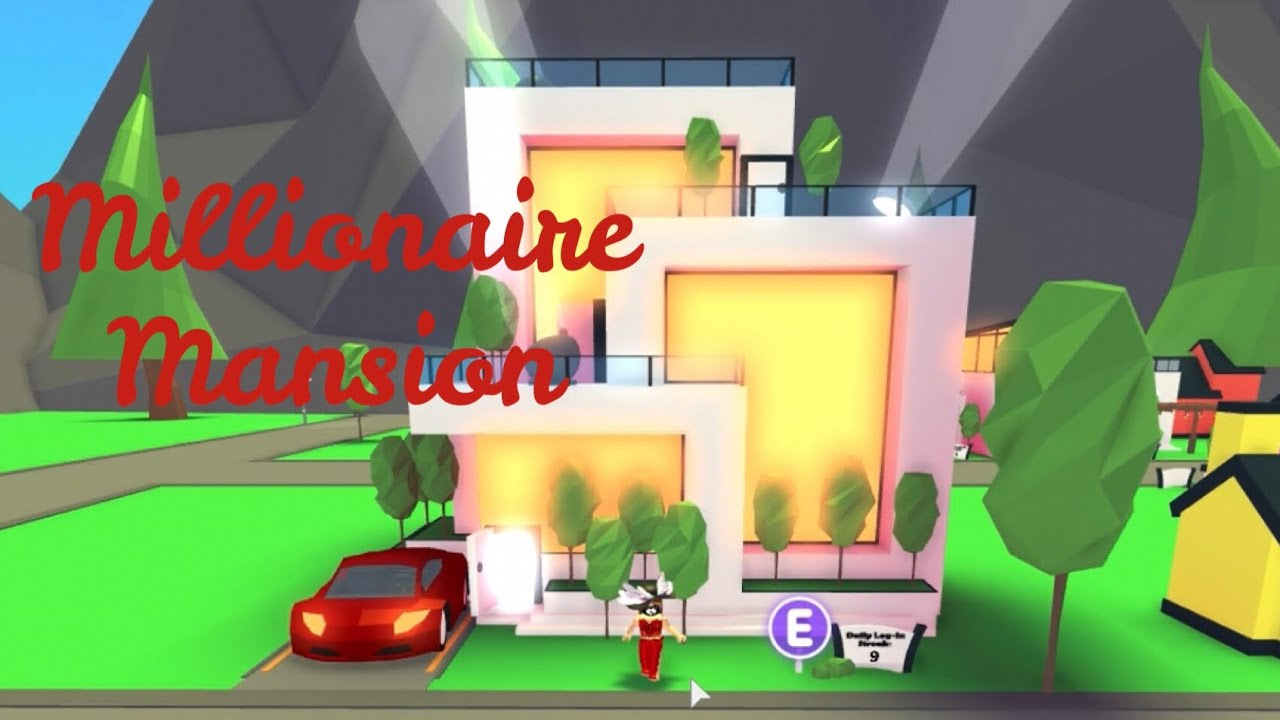 Roblox Adopt Me Millionaire Mansion How To Get 90000 Robux - how to get a car on roblox adopt me