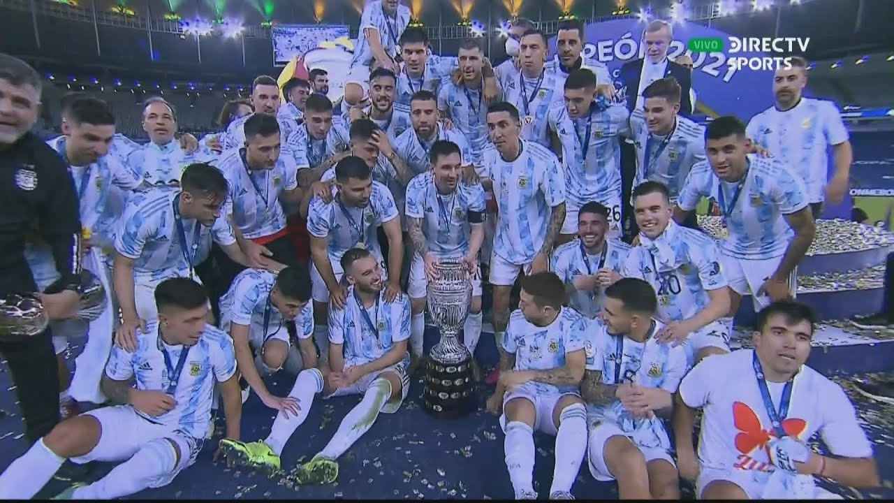 Download Argentina vs Brasil | Copa América 2021 | Partido Completo | Final | DIRECTV Sports