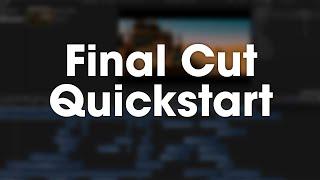 SoundWorks V1: Final Cut Pro