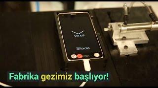Vestel City fabrika turu başladı! - Telefonlar nasıl üretiliyor?