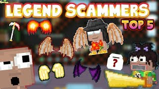 Top 5 Legend Scammer !!! ( Famous Legends )   GrowTopia