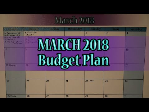 March 2018 Budget Plan: Bump In The Road (Debt: -$36,224.41)