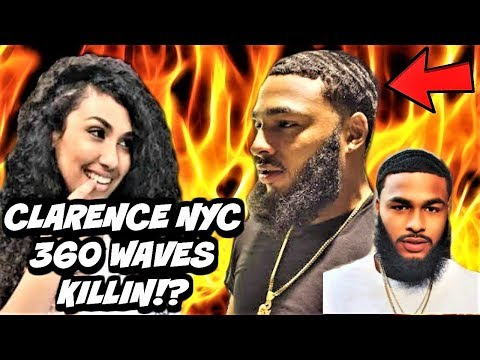 YOUTUBE CELEBRITY CLARENCE NYC STRAIGHT HAIR 360 WAVES SPINNING LIKE CRAZY!?