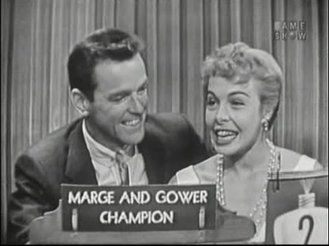 What's My Line? - Marge & Gower Champion; Mary Healy [panel] (May 15, 1955)