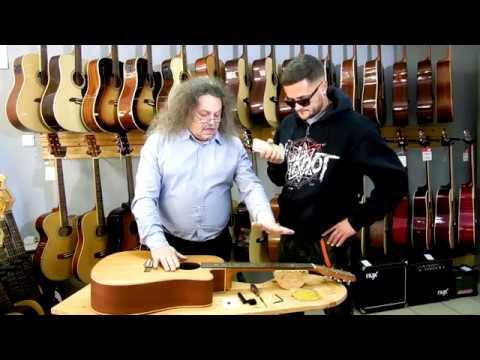 Аккустическая гитара: Замена струн