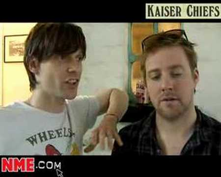 NME Video: Kaiser Chiefs Interview.