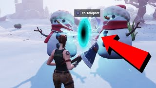 Teleport In Public Games Without Dying In Fortnite (Teleport Glitch) Fortnite Glitches Saison 7 2019