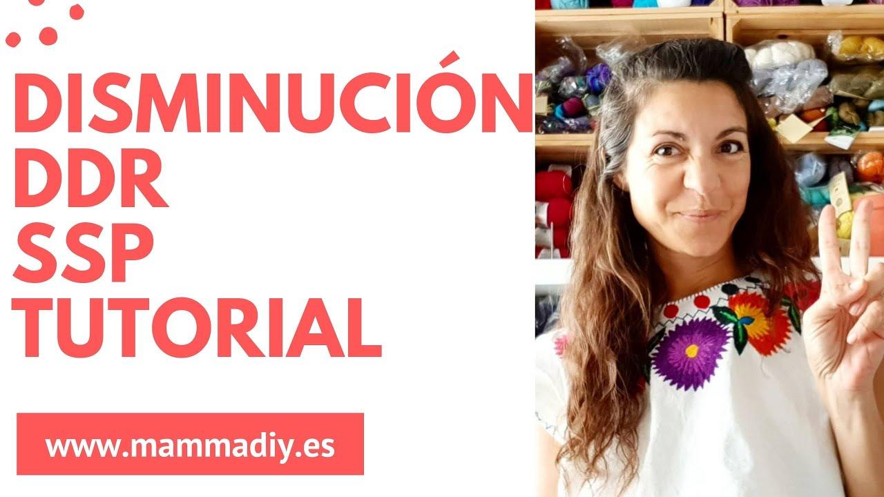 😍🔥💥 DISMINUCIÓN CON PUNTO DEL REVÉS 💥🔥😍 Punto SSP en inglés, tutorial por Cecilia Losada