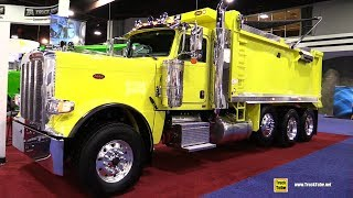 2017 Peterbilt 367 Truck by J&J Truck Bodies and Trailers - Walkaround - 2017 NACV Show Atlanta