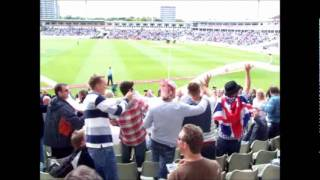 England v India Edgbaston, day 2, barmy army.