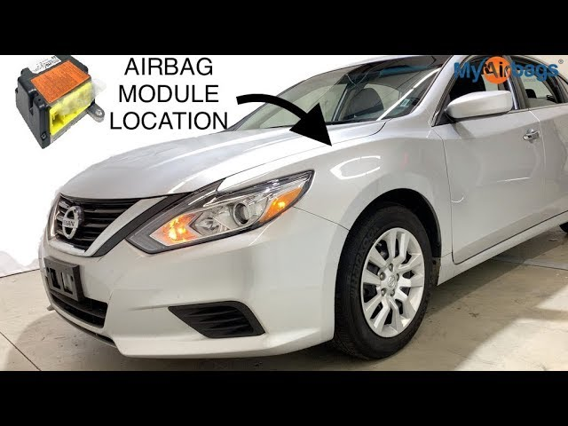 [SCHEMATICS_4US]  NISSAN ALTIMA - AIRBAG SRS MODULE LOCATION & RESET - MyAirbags.com - YouTube | Car Air Bag Schematics Nissan |  | YouTube