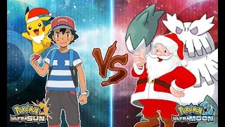 Pokemon Ultra Sun and Ultra Moon: Ash Vs Santa Claus (Merry Christmas!)