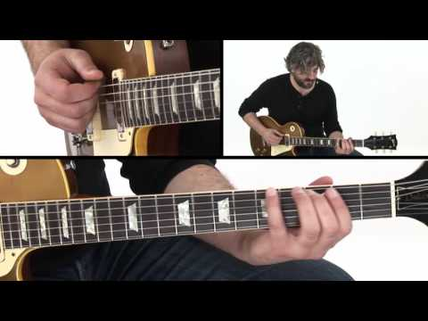 Blues Guitar Lesson - 5 Modes of Minor Pentatonic - Jason Loughlin