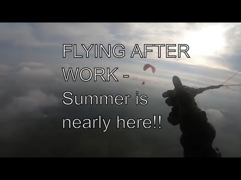 Flying After Work - The Beginning Of A Great Summer