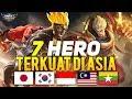 7 HERO TERKUAT DI ASIA SEASON 13 | Mobile Legends Indonesia