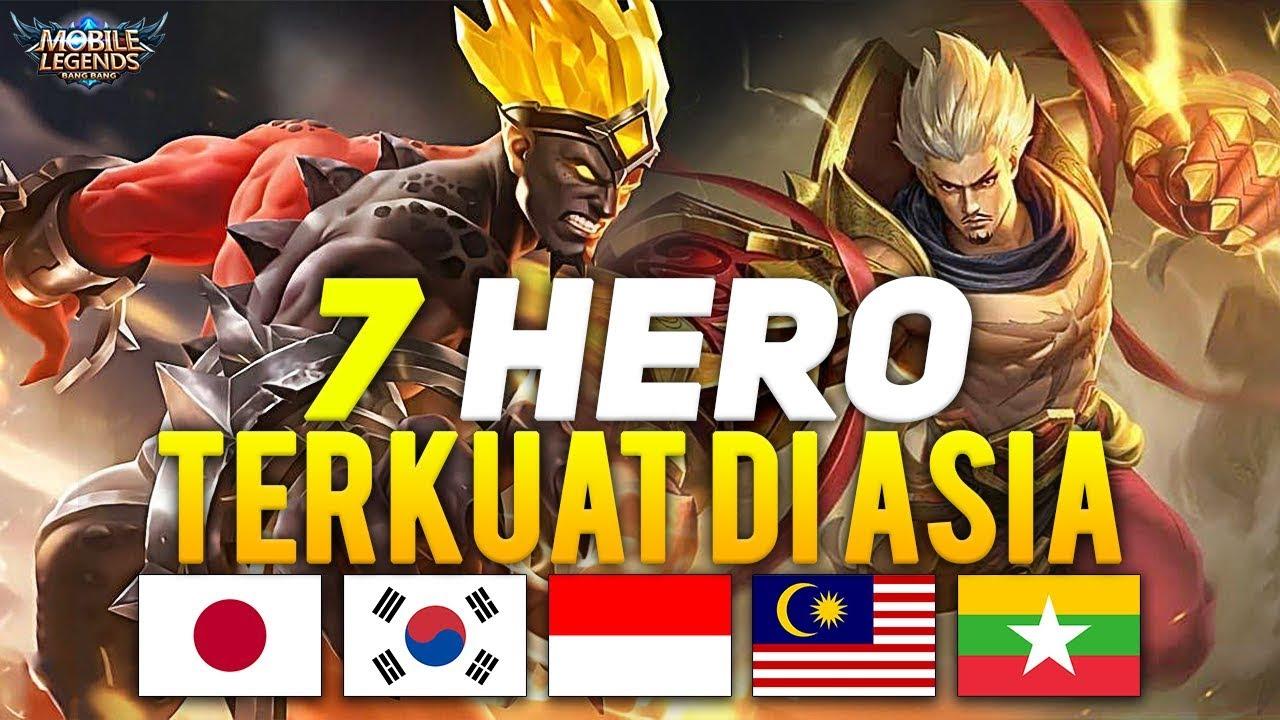 7 HERO TERKUAT DI ASIA SEASON 13