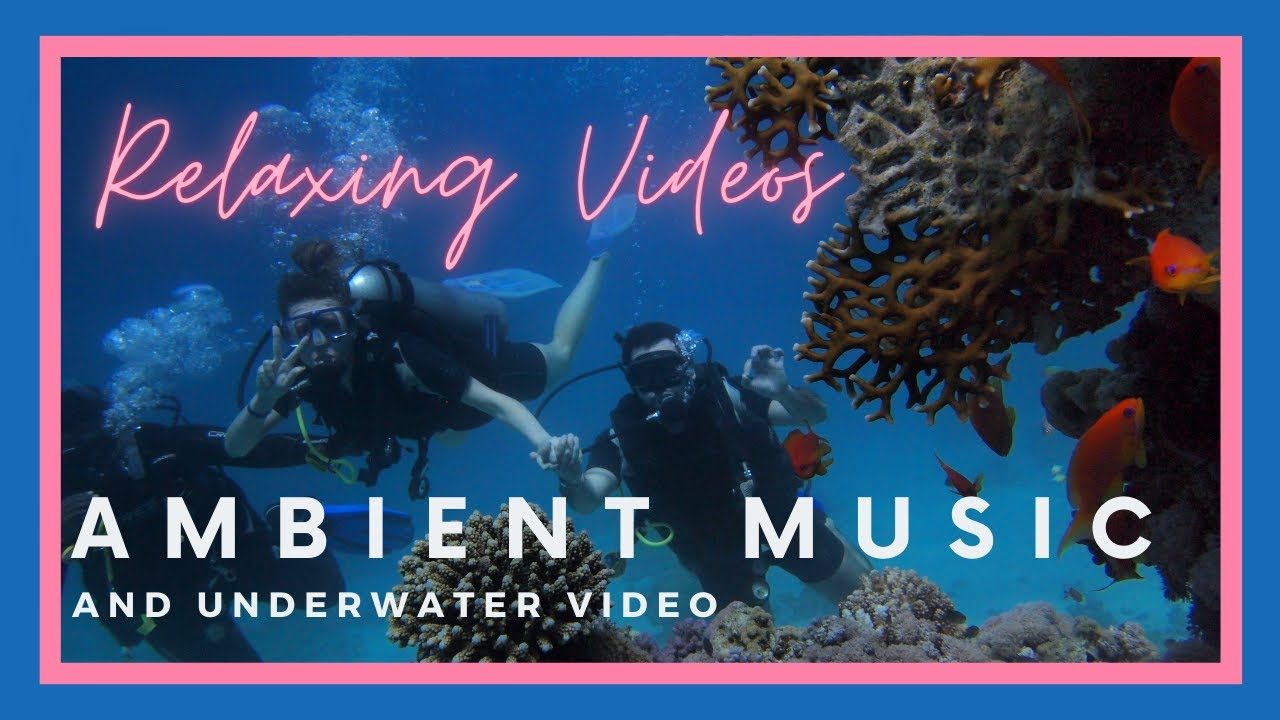 relaxing videos | ambient music and underwater video