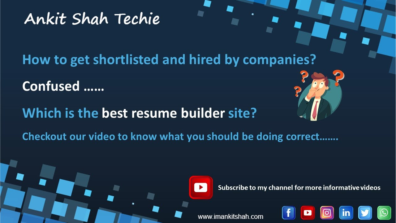 How To Get Shortlisted For A Job How To Get Hired By The Company