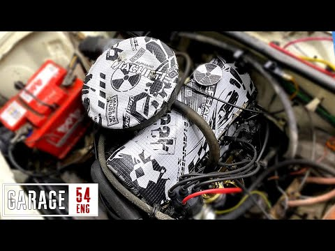 Applying Sound Deadening Pads To The Engine – Will It Work?