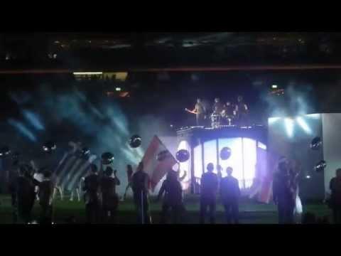 Sunrise Avenue & DJ Bobo @Letzigrund Zurich EM 12.08.14