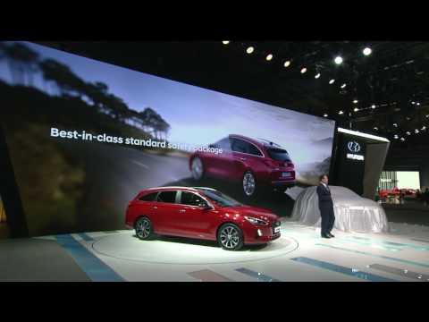 Hyundai Motor Europe GmbH Presentation Hyundai i30 Wagon at the Geneva Motor Show 2017   AutoMotoTV
