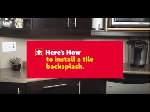 here s how to install a tile backsplash youtube rh youtube com