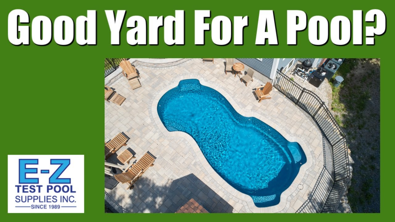 3 Determining Factors If You Have A Good Yard for a Swimming Pool - E-Z  Test Pool Supplies | Hydro Pro Ig Pool Pump Wiring Diagram |  | EZ Test Pool Supplies