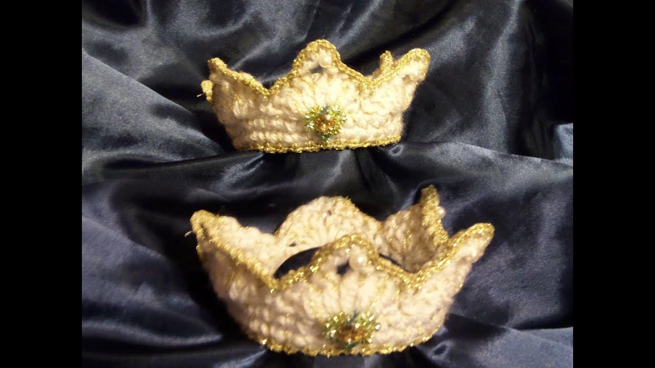 Diy Wundervolle Krone Krönchen Selber Machen Häkeln In Allen