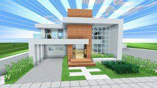 minecraft moderna casa modern survival para