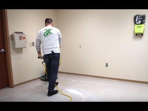 how to strip and refinish vinyl tile floors using greening the cleaning products