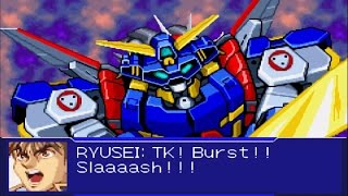 Super Robot Wars Original Generation 2 - SRX All Attacks