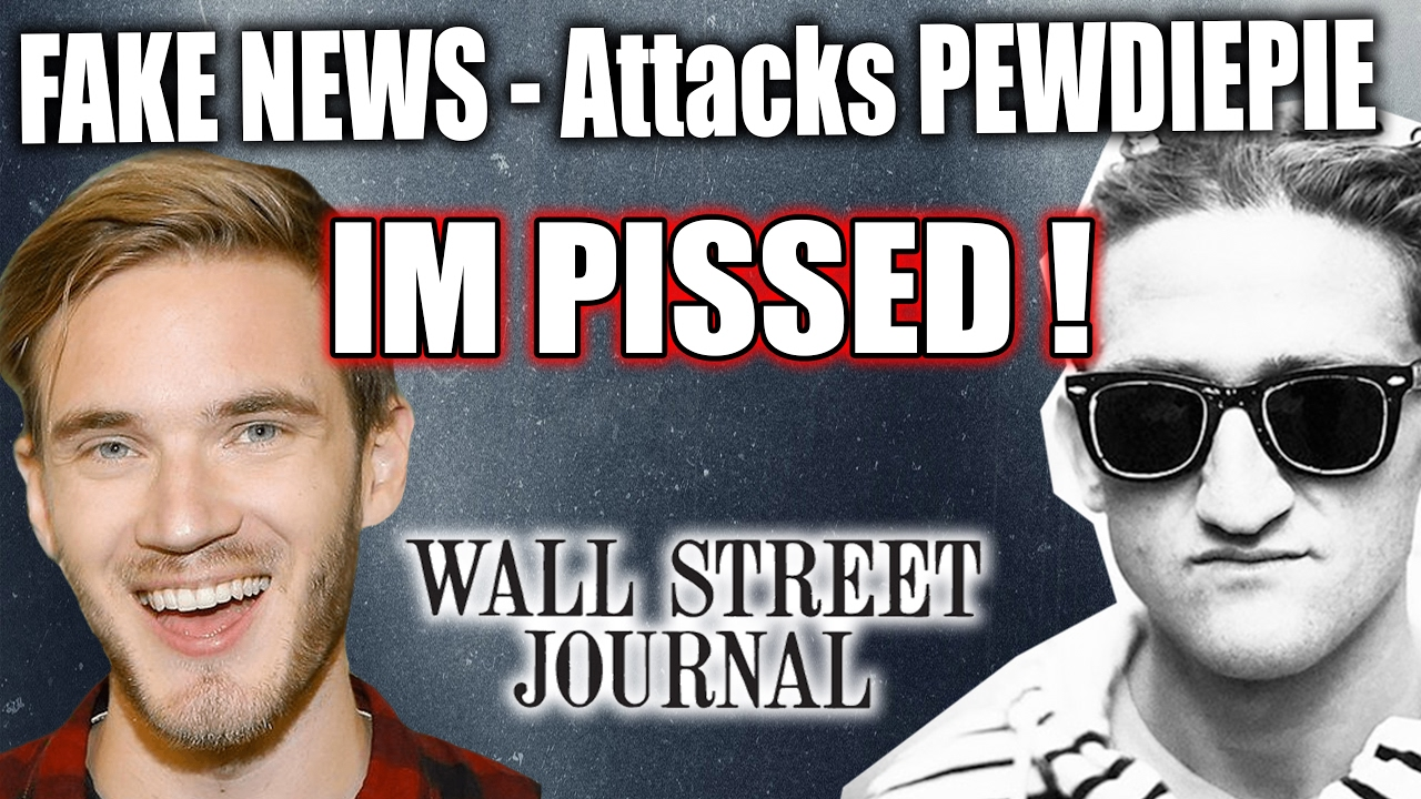 Pewdiepie News: PewDiePie UNDER ATTACK !! FAKE News