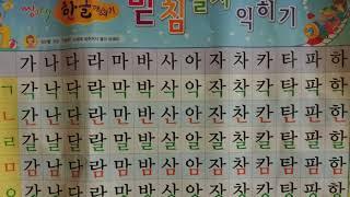 Корейский с Андреем Литвиновым. Урок 3. Все о закрытых слогах. (Теория)