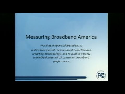 Mobile Broadband Services Testing and Measurement Program -