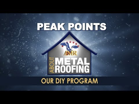 Install A Metal Roof On Your Home With Our DIY Do-It-Yourself Program!