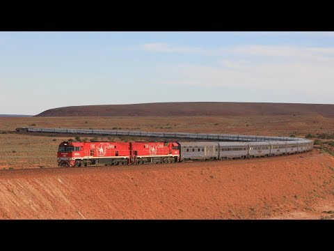 Trains on the Trans Australian Railway (Second Edition)