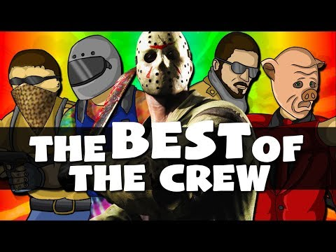 """""""I'M FRYING!!"""" - The BEST of The Crew! - Funny Moments Gaming Montage! (Part 10)"""
