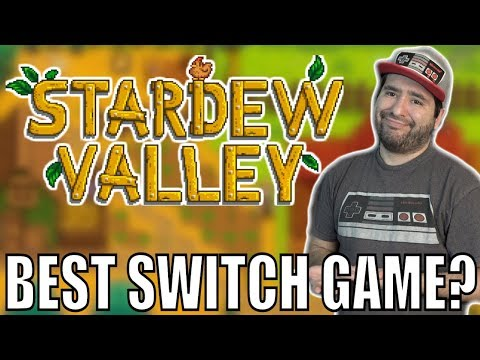 Stardew Valley for Nintendo Switch Review - Perfect Switch Game?   8-Bit Eric