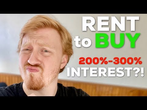 Insane Interest Rates On Rent To Buy Items