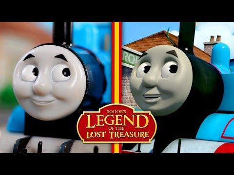 Comparison: Sodor's Legend of the Lost Treasure HO/OO Remake