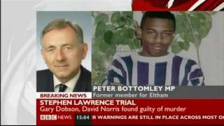 BREAKING NEWS: The Stephen Lawrence Murder Trial 2011 - THE VERDICT (BBC News coverage)