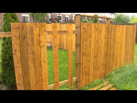 Ont. family has pieces of fence stolen as lumber prices soar
